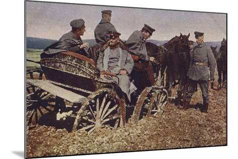 An Example of Polish Roads, World War I, 1914-1916--Mounted Photographic Print