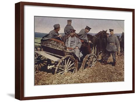 An Example of Polish Roads, World War I, 1914-1916--Framed Art Print