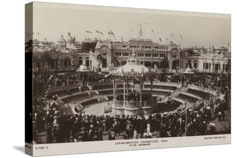 Elite Gardens, Japan-British Exhibition, London 1910--Stretched Canvas Print