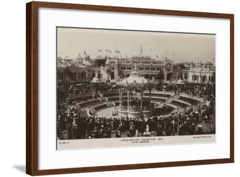 Elite Gardens, Japan-British Exhibition, London 1910--Framed Art Print