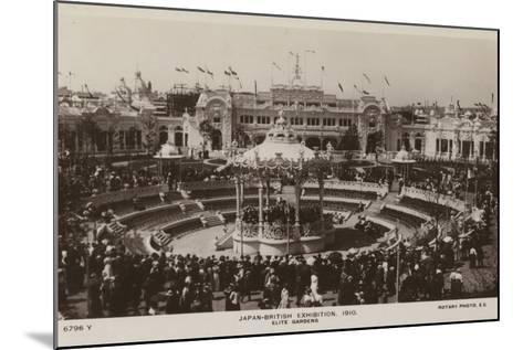 Elite Gardens, Japan-British Exhibition, London 1910--Mounted Photographic Print