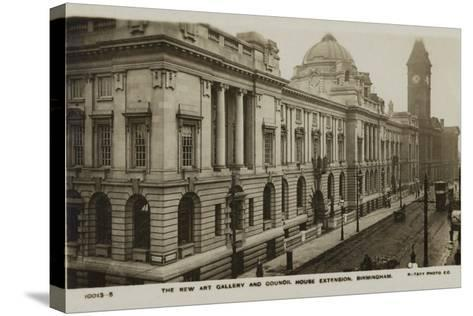 The New Art Gallery and Council House Extension, Birmingham--Stretched Canvas Print
