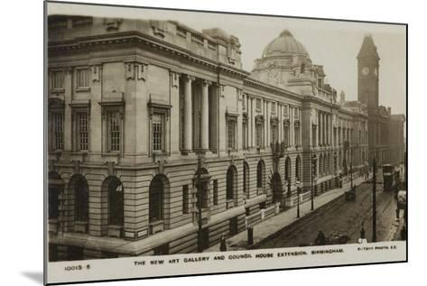 The New Art Gallery and Council House Extension, Birmingham--Mounted Photographic Print