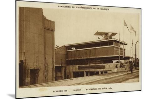 Aluminium Pavilion, International Exposition, Liege, Belgium, 1830--Mounted Photographic Print