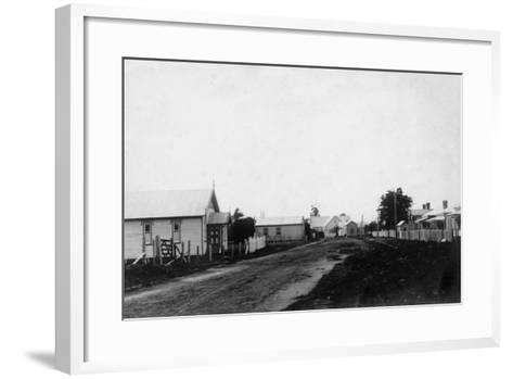 Waipu Congregational Church and Presbyterian Church--Framed Art Print