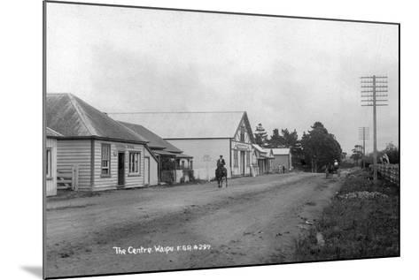 The General Store and Coronation Hall in the Centre of Waipu--Mounted Photographic Print