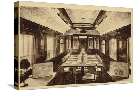 Railway Carriage in Which Was Signed the Armistice Treaty--Stretched Canvas Print