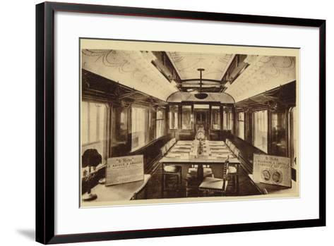Railway Carriage in Which Was Signed the Armistice Treaty--Framed Art Print