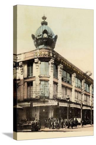 Grands Magasins Des Nouvelles Galeries, Avenue De Clichy, 1900--Stretched Canvas Print