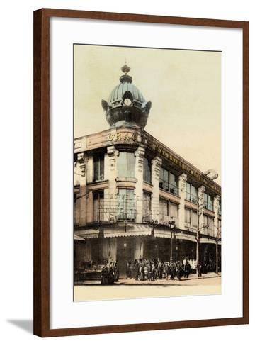 Grands Magasins Des Nouvelles Galeries, Avenue De Clichy, 1900--Framed Art Print