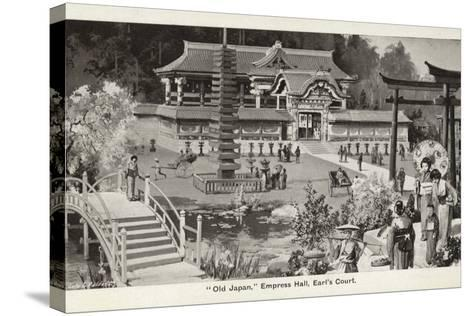 Old Japan Exhibition, Empress Hall, Earl's Court, London, 1907--Stretched Canvas Print