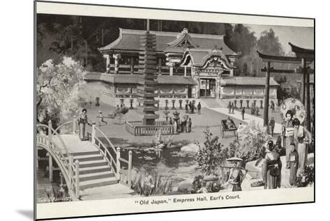 Old Japan Exhibition, Empress Hall, Earl's Court, London, 1907--Mounted Photographic Print