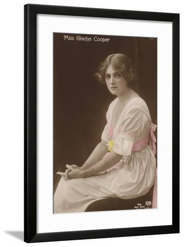 Gladys Cooper, English Stage, Film and Television Actress--Framed Art Print