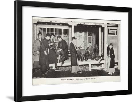 Basket Workers, Old Japan Exhibition, Earl's Court, London, 1907--Framed Art Print