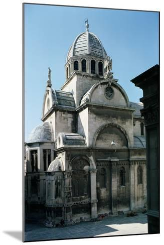 View of Sibenik Cathedral from the East, Built 1443--Mounted Photographic Print