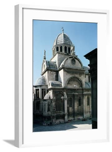 View of Sibenik Cathedral from the East, Built 1443--Framed Art Print
