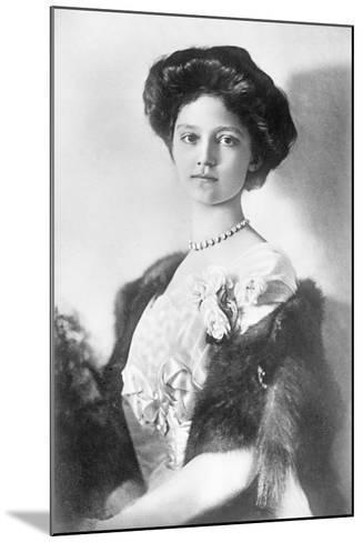 Zita, H.R.H. Empress of Austria, Princess of Bourbon and Parma, 1914--Mounted Photographic Print