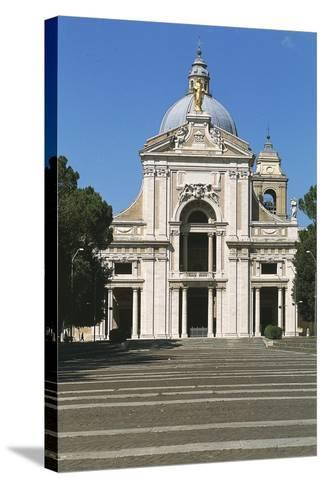 Basilica of St Mary of Angels, Santa Maria Degli Angeli, Assisi--Stretched Canvas Print