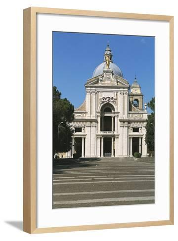 Basilica of St Mary of Angels, Santa Maria Degli Angeli, Assisi--Framed Art Print
