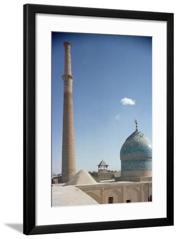 Harun Vilayet Dome and the Ali Minaret, Probably C.17th Century--Framed Art Print