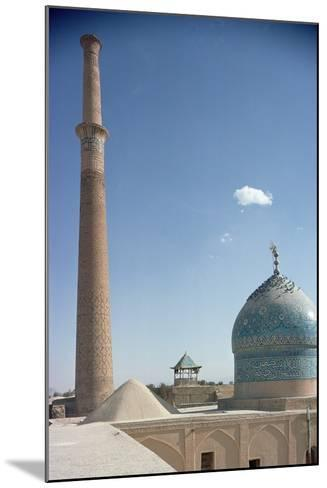 Harun Vilayet Dome and the Ali Minaret, Probably C.17th Century--Mounted Photographic Print