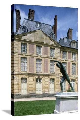 Louis XV Wing, 1739-1740, Palace of Fontainebleau--Stretched Canvas Print
