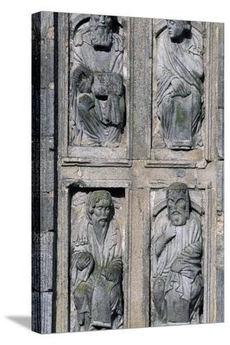 East Facade Cathedral of Santiago De Compostela, Santiago De Compostela--Stretched Canvas Print