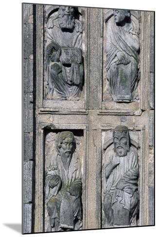 East Facade Cathedral of Santiago De Compostela, Santiago De Compostela--Mounted Photographic Print
