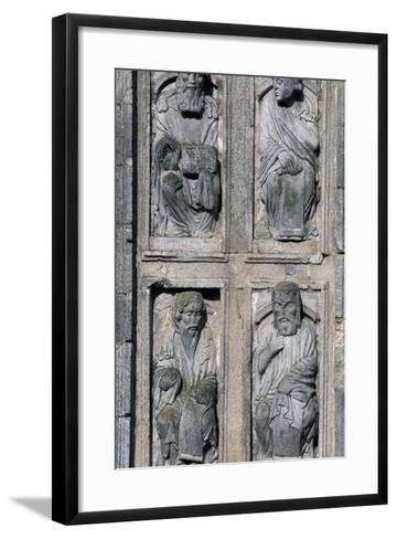 East Facade Cathedral of Santiago De Compostela, Santiago De Compostela--Framed Art Print