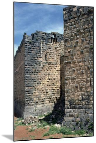 Fortress Wall with Sections of Roman Column, C.12th-13th Century--Mounted Photographic Print