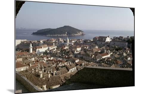 View of the City and the Harbour from the Minceta Tower--Mounted Photographic Print