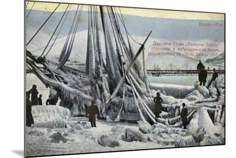 Wreck of the North Star, Novorossiysk, Russia, January 1907--Mounted Photographic Print
