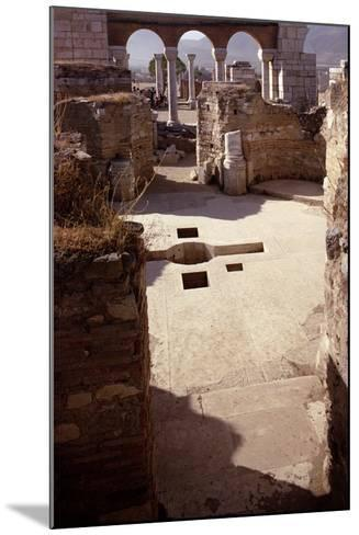 Baptistery, and View Towards the Nave, Probably 4th/5th Century--Mounted Photographic Print