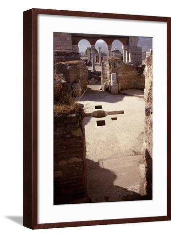 Baptistery, and View Towards the Nave, Probably 4th/5th Century--Framed Art Print