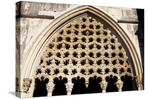 Detail of Royal Cloister in Batalha Monastery, Batalha--Stretched Canvas Print