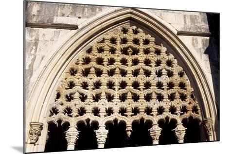 Detail of Royal Cloister in Batalha Monastery, Batalha--Mounted Photographic Print