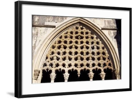Detail of Royal Cloister in Batalha Monastery, Batalha--Framed Art Print