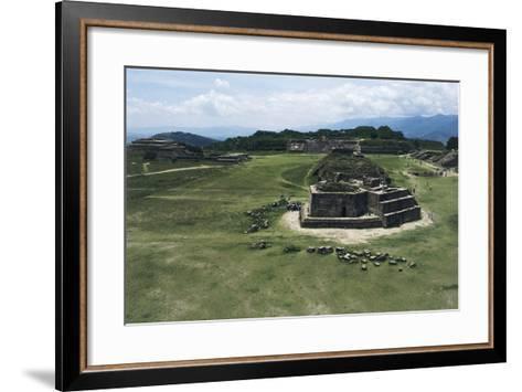 Astronomical Observatory or Building J, Archaeological Site of Monte Alban--Framed Art Print