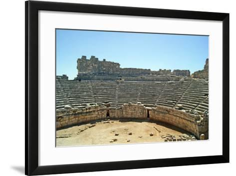 View of the Xanthos Theatre from the Top Seating Tier, Xanthos, Turkey--Framed Art Print