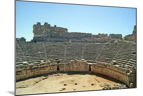 View of the Xanthos Theatre from the Top Seating Tier, Xanthos, Turkey--Mounted Photographic Print
