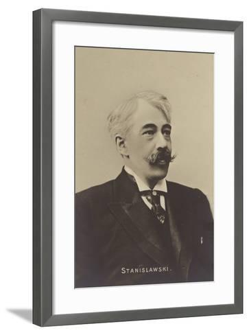 Constantin Stanislavski, Russian Actor and Theatre Producer--Framed Art Print