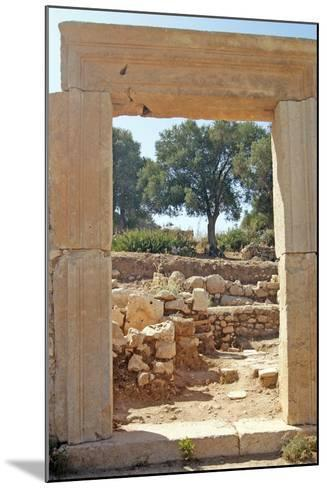 View Through the Northern Gate of the Agora, Patara, Turkey--Mounted Photographic Print