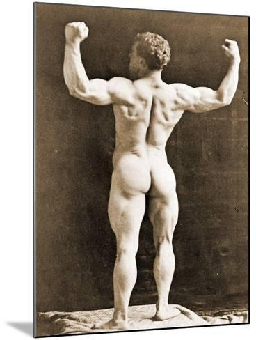 Eugen Sandow, in Classical Ancient Greco-Roman Pose, C.1897--Mounted Photographic Print