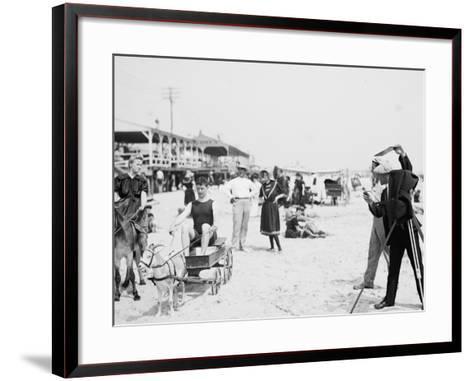 They Were on their Honeymoon, St. Augustine, Florida, 1900-05--Framed Art Print