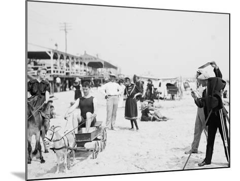 They Were on their Honeymoon, St. Augustine, Florida, 1900-05--Mounted Photographic Print