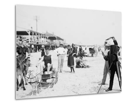 They Were on their Honeymoon, St. Augustine, Florida, 1900-05--Metal Print