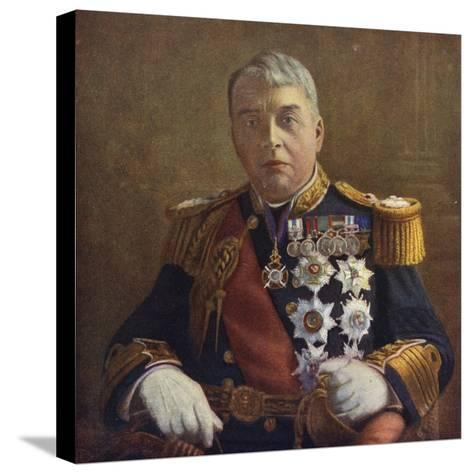 Admiral of the Fleet Lord Fisher, First Sea Lord of the Admiralty--Stretched Canvas Print