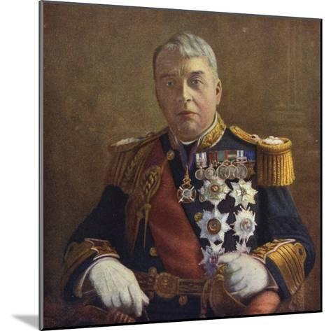 Admiral of the Fleet Lord Fisher, First Sea Lord of the Admiralty--Mounted Photographic Print