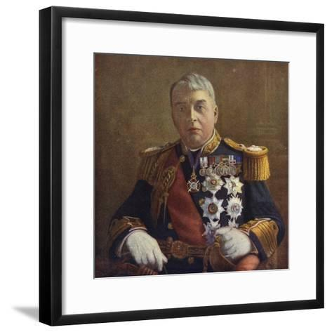 Admiral of the Fleet Lord Fisher, First Sea Lord of the Admiralty--Framed Art Print