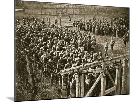 Germans Stranded in France by the Turn of the Tide, 1914-19--Mounted Photographic Print